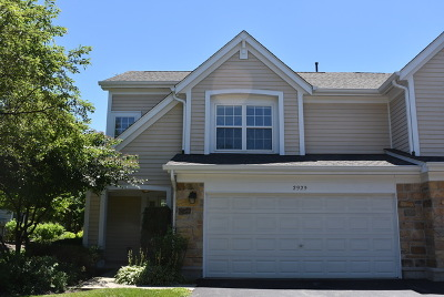 Schaumburg Condo/Townhouse For Sale: 2929 Clematis Drive