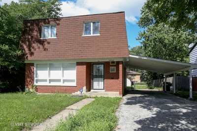 Dolton  Single Family Home For Sale: 14804 Minerva Avenue