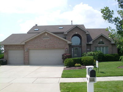 Tinley Park Single Family Home For Sale: 19718 Edgebrook Lane