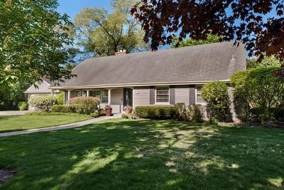 Wilmette Single Family Home For Sale: 2629 Kenilworth Avenue