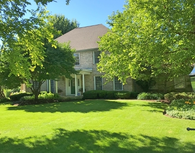 Crystal Lake Single Family Home For Sale: 4306 Church Hill Lane