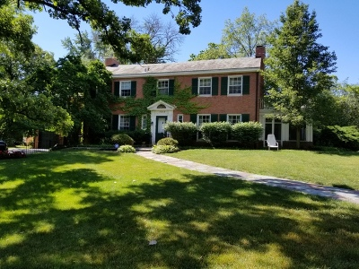 Flossmoor Single Family Home For Sale: 1315 Dartmouth Road