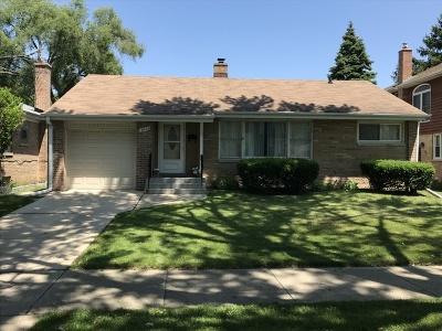 Skokie Single Family Home For Sale: 3826 Brummel Street