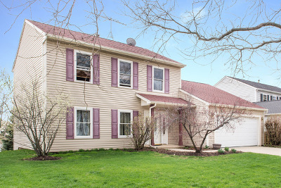 Streamwood Single Family Home For Sale: 26 North Walnut Court
