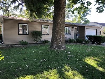 Romeoville Single Family Home Price Change: 438 Garland Avenue