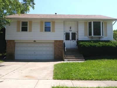 Streamwood Single Family Home For Sale: 625 Pleasant Place