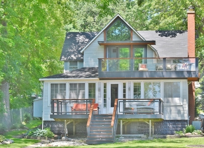 Mc Henry County Single Family Home Re-Activated: 4520 North Riverdale Drive