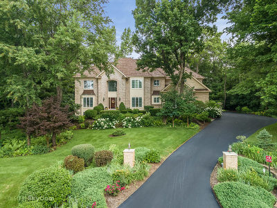 St. Charles Single Family Home For Sale: 4n558 Hidden Oaks Road