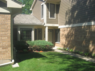 Libertyville Condo/Townhouse For Sale: 1205 Chatham Court #1205