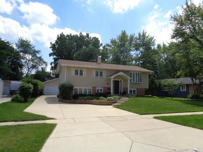 Hoffman Estates Single Family Home For Sale: 535 Lafayette Lane