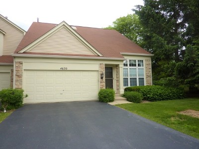 Hoffman Estates Condo/Townhouse For Sale: 4630 Jade Lane