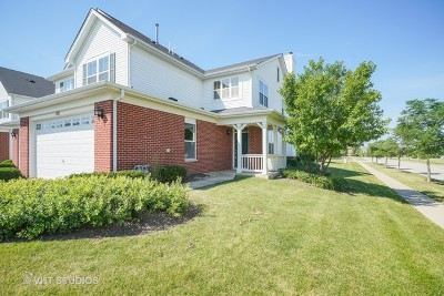 Oswego Condo/Townhouse For Sale: 471 Silver Charm Drive