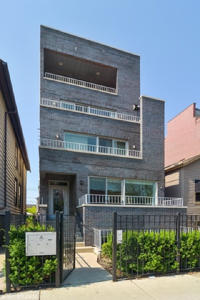 Chicago Condo/Townhouse New: 1414 West Grand Avenue #1