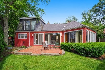 Wilmette Single Family Home For Sale: 214 17th Street
