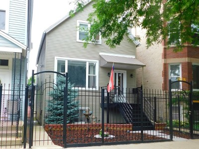 Single Family Home For Sale: 1828 North Kedzie Avenue