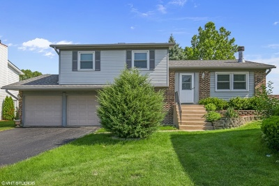 Hoffman Estates Single Family Home For Sale: 1590 East Bayside Court