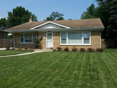 Glenview Single Family Home For Sale: 3232 Ronald Road