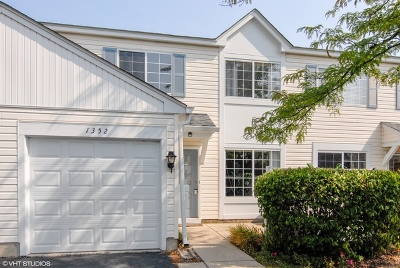 Naperville Condo/Townhouse For Sale: 1352 Normantown Road