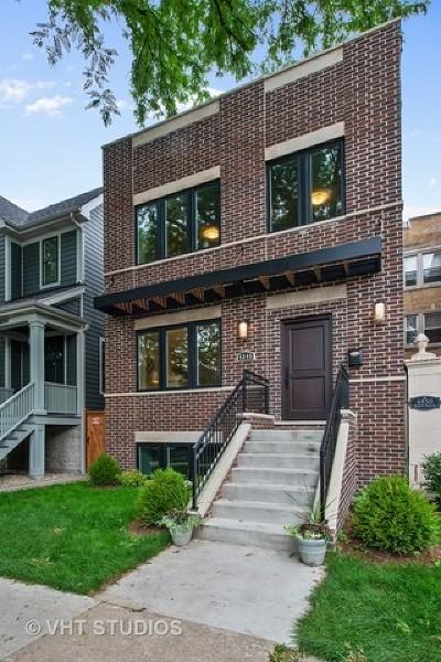 Single Family Home For Sale: 4846 North Oakley Avenue