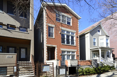 Condo/Townhouse New: 1722 West Roscoe Street #2