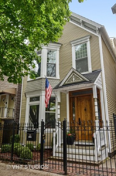 Single Family Home For Sale: 1111 West Wellington Avenue