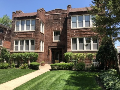 Oak Park Condo/Townhouse For Sale: 430 Wesley Avenue #2S