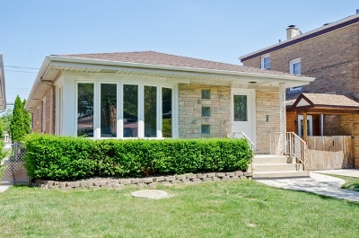 Chicago Single Family Home Price Change: 5151 North Natchez Avenue