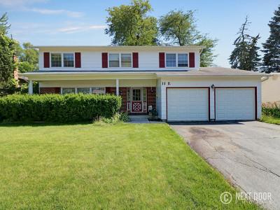 Arlington Heights Single Family Home Price Change: 11 East Hintz Road