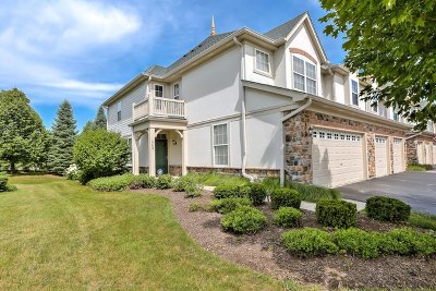Vernon Hills Condo/Townhouse For Sale: 342 Bay Tree Circle