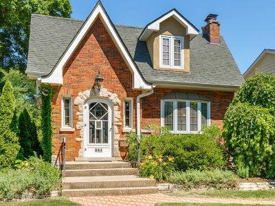 Glen Ellyn Single Family Home For Sale: 175 Forest Avenue