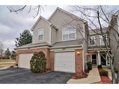 Grayslake Condo/Townhouse For Sale: 1383 Longchamps Court