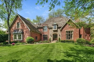 Burr Ridge IL Single Family Home For Sale: $1,299,000