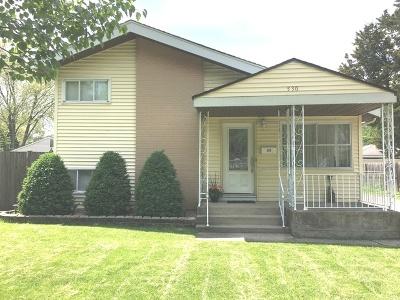 Villa Park Single Family Home New: 530 North Addison Road