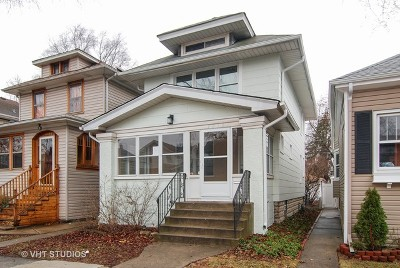 Oak Park Single Family Home New: 1015 South Elmwood Avenue
