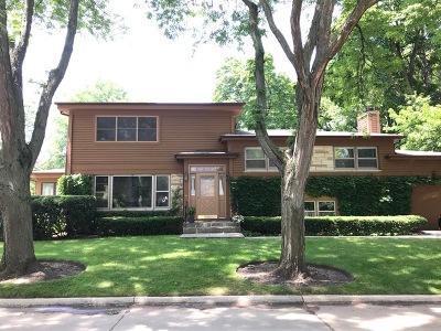 Glenview Single Family Home For Sale: 2100 Fir Street