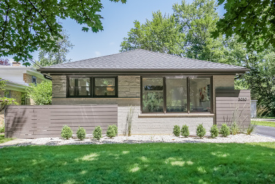 Wilmette Single Family Home For Sale: 3030 Gregory Avenue