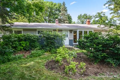 Glen Ellyn Single Family Home For Sale: 23w304 Saint Charles Road