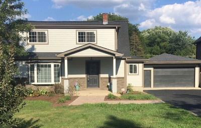 Downers Grove Single Family Home For Sale: 5907 Pershing Avenue