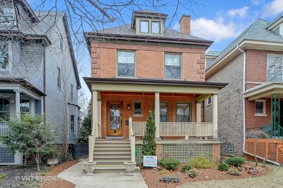 Single Family Home For Sale: 5311 North Lakewood Avenue