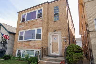 Elmwood Park Multi Family Home For Sale: 7343 West Fullerton Avenue
