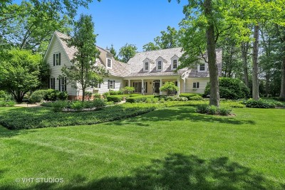 Libertyville Single Family Home For Sale: 1651 Timber Woods Lane