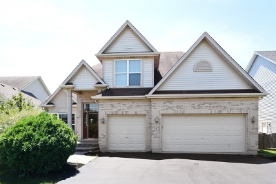 Bartlett IL Single Family Home For Sale: $389,000