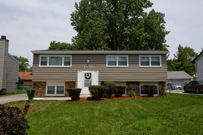 Oak Forest Single Family Home New: 4936 153rd Street