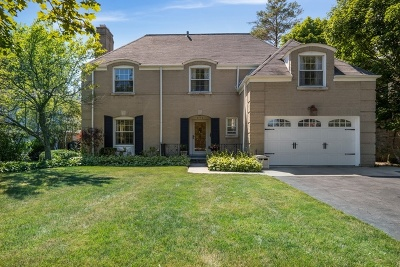 Glenview Single Family Home For Sale: 846 Wagner Road
