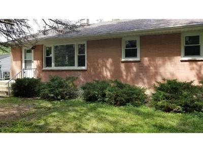 Lake In The Hills Single Family Home Price Change: 532 Blackhawk Drive