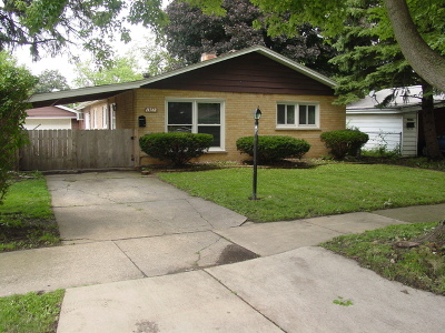Alsip  Single Family Home New: 11740 South Kedvale Avenue