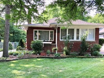 Villa Park Single Family Home Price Change: 323 East Highland Avenue
