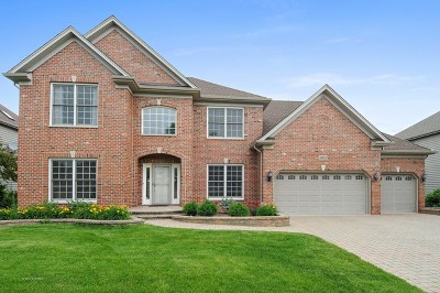 Naperville Single Family Home New: 3012 Deering Bay Drive