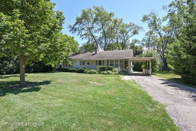 Glenview Single Family Home For Sale: 2141 Robincrest Lane