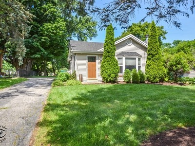 Warrenville Single Family Home Price Change: 3s464 Warren Avenue